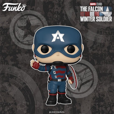 Funko POP! Marvel: The Falcon and Winter Soldier - John F. Walker