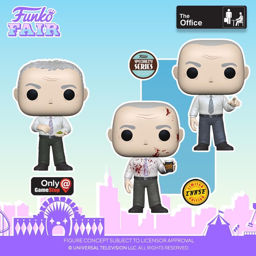 Funko POP! TV: The Office - Creed (Specialty Series)