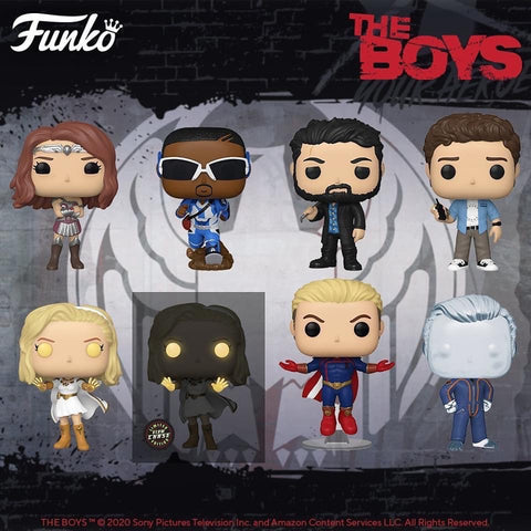 Funko Pop! TV: The Boys - Bundle of 8 Pops! including Chase