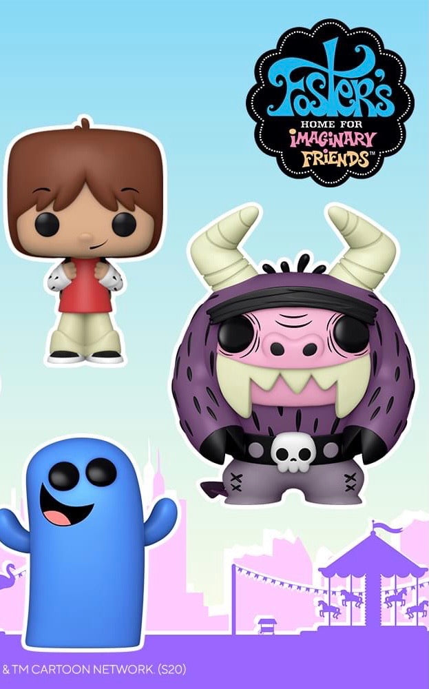 Funko POP! Animation: Foster's Home for Imaginary Friends - Eduardo
