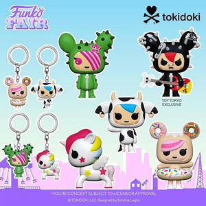 Funko Pop! Animation: Tokidoki - Donutella Pocket Pop!