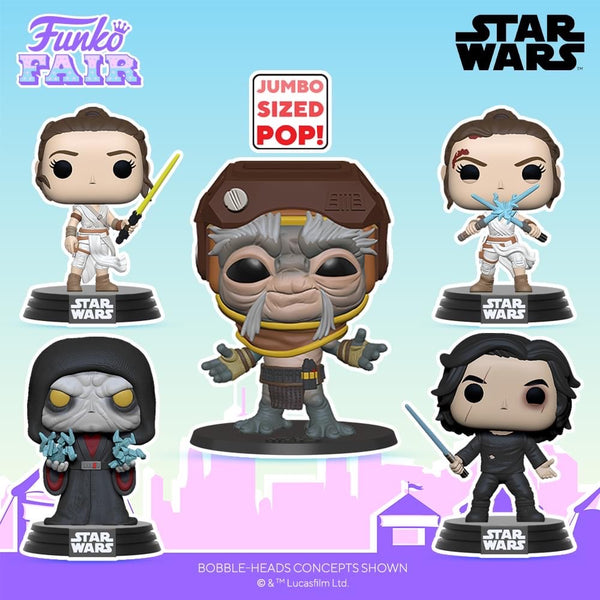 Funko Pop! Star Wars : TRoS - Ben Solo with Blue Lightsaber