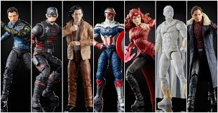 Avengers 2021 Marvel Legends 6-Inch Action Figures Wave 1 Case of 8