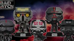 Funko Pop! Star Wars: Bad Batch - Bundle of 5