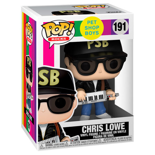 Pet Shop Boys Chris Lowe Pop! Vinyl Figure