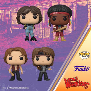 Funko Pop! Bundle of 4: Warriors - Swan, Cochise, Luther and Rollerskate Gang Leader