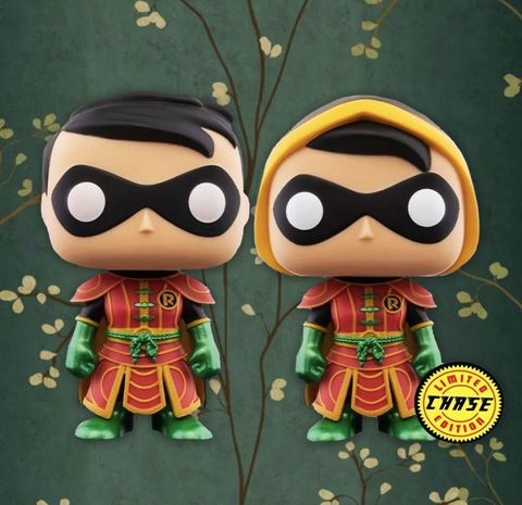Funko Pop! Heroes: Imperial Palace - Robin - Chase Bundle