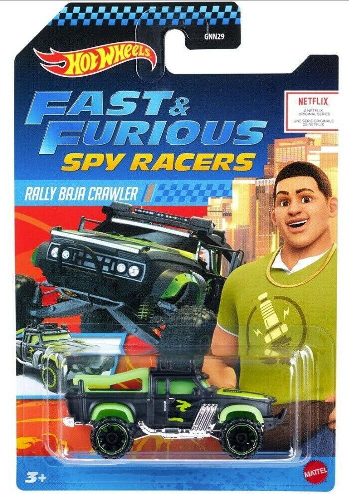 Fast & Furious Spy Racers Hot Wheels Rally Baja Crawler