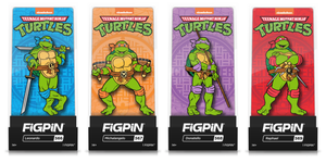 FiGPiN Classic: Teenage Mutant Ninja Turtles 2020- Bundle of 4 (#566, #567, #568, #569)