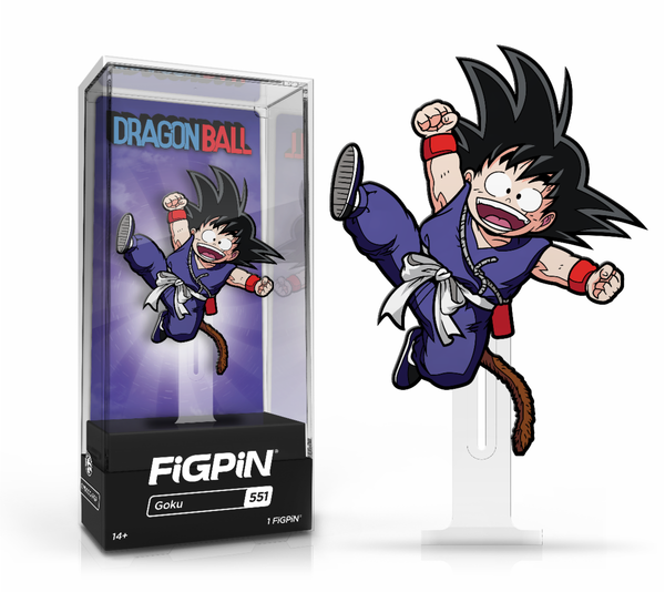 FiGPiN Classic: Dragonball - Common Wave Bundle of 3 (#551, #553, & #554)