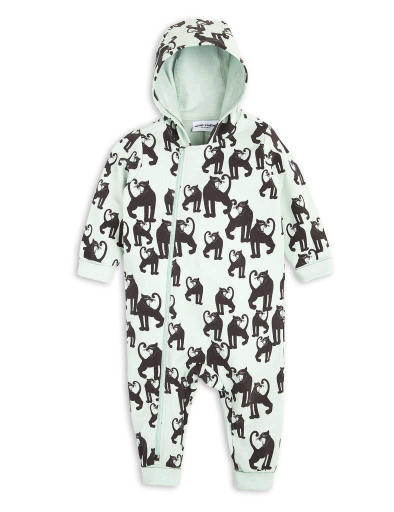 Panther onesie - light green new