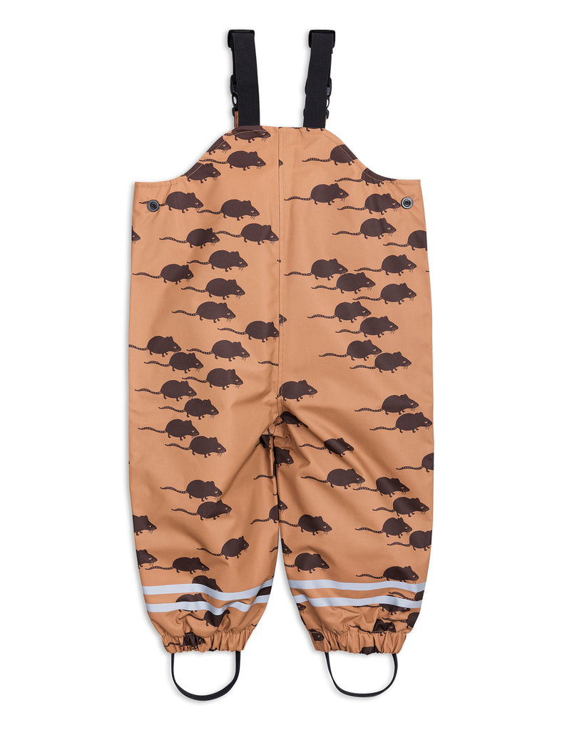Edelweiss mouse high trousers-brown
