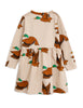 Ducks aop ls dress