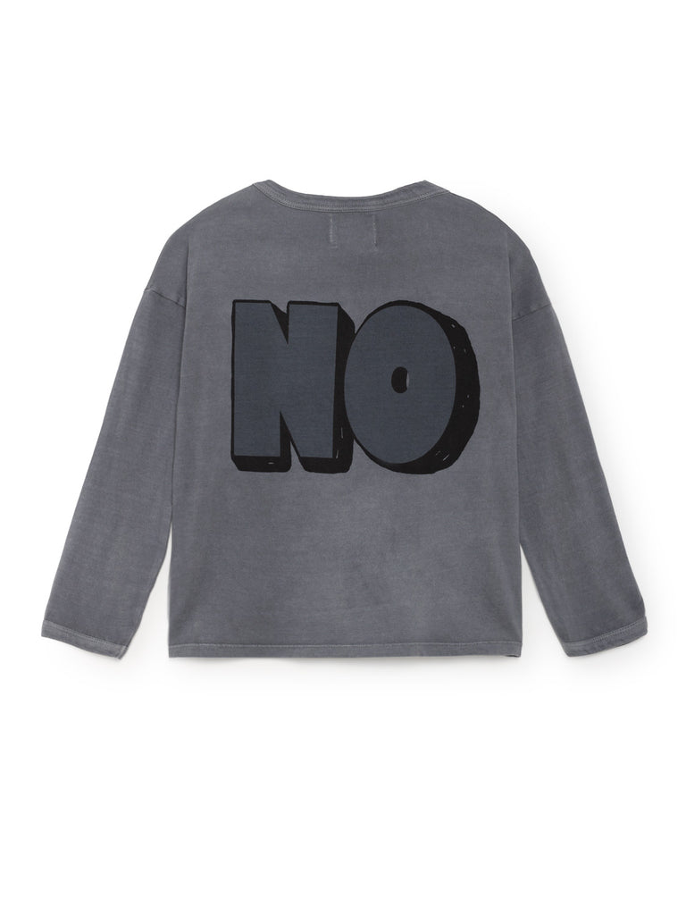 Yes no round neck t shirt