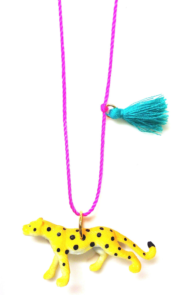 Charlie the Cheetah necklace