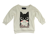 Cat girl sweatshirt