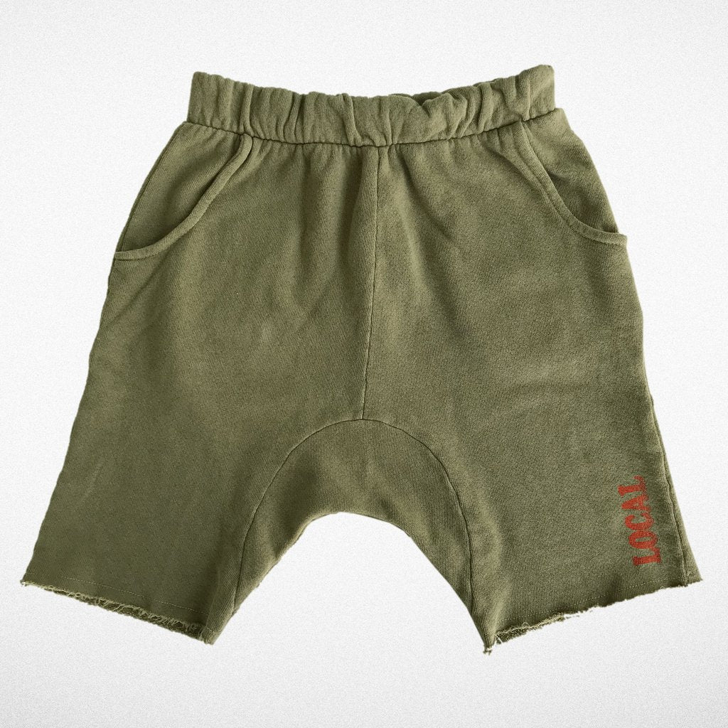 Cozy time shorts - army