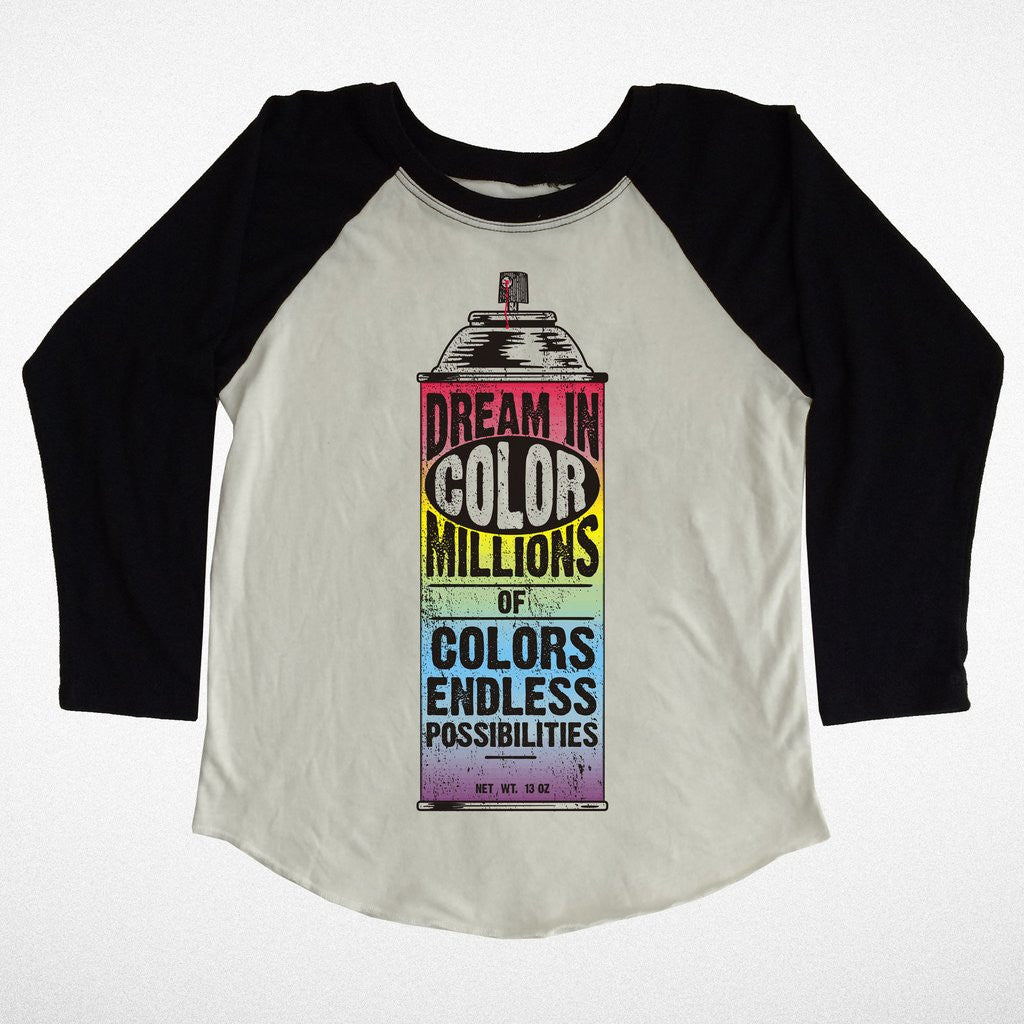 Dream in color raglan