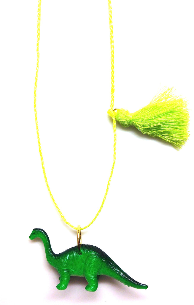 Fred the dinosaur necklace