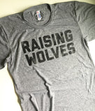 Raising wolves mens/unisex grey