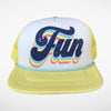 Fun trucker hat