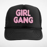 Girl gang trucker hat