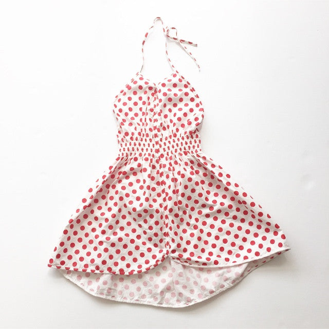 Polkadot sally dress
