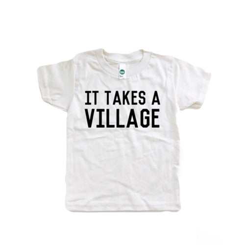 It takes a village - kids