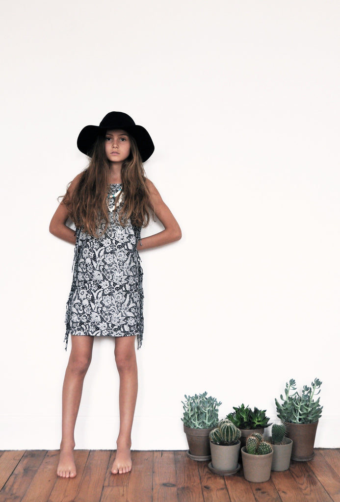 Joni dress - black lace