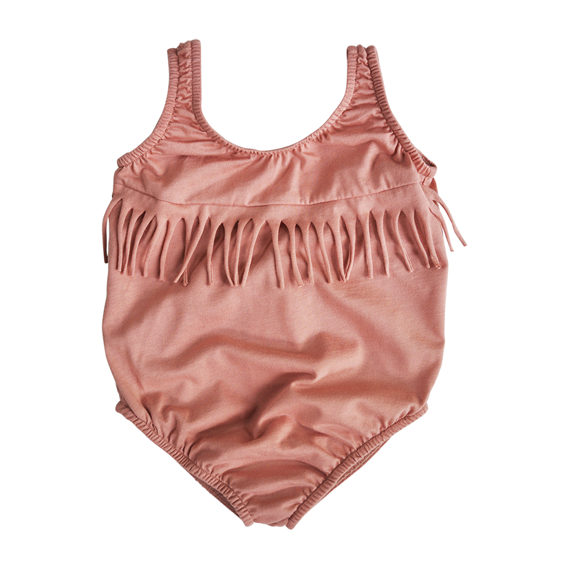 Kobe swimsuit - warm pink