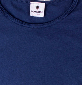 Chillers tail back tee - navy