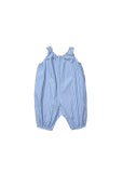 Onion baby romper - blue stripe