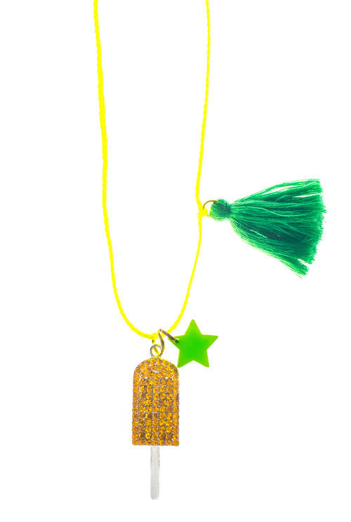 Popsicle summer necklace