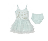 Bebe sophia tutu dress peppermint