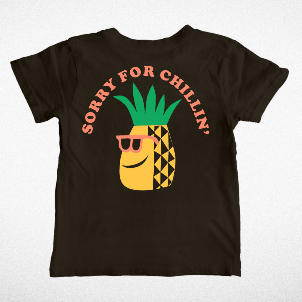 Sorry for chillin tee