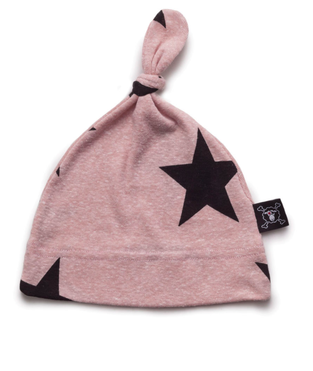 Star hat - powder pink