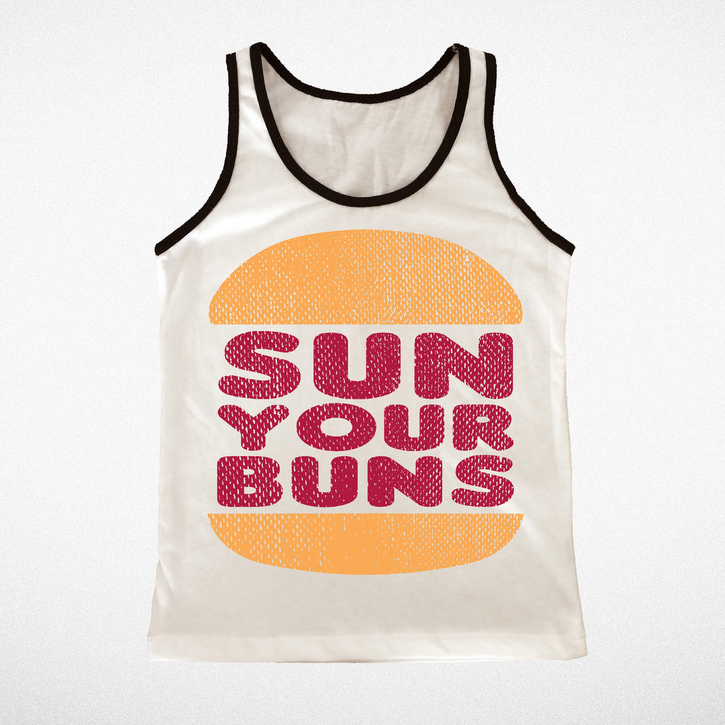 Sun your buns tank top