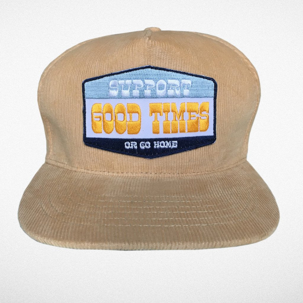 Support good times snap back