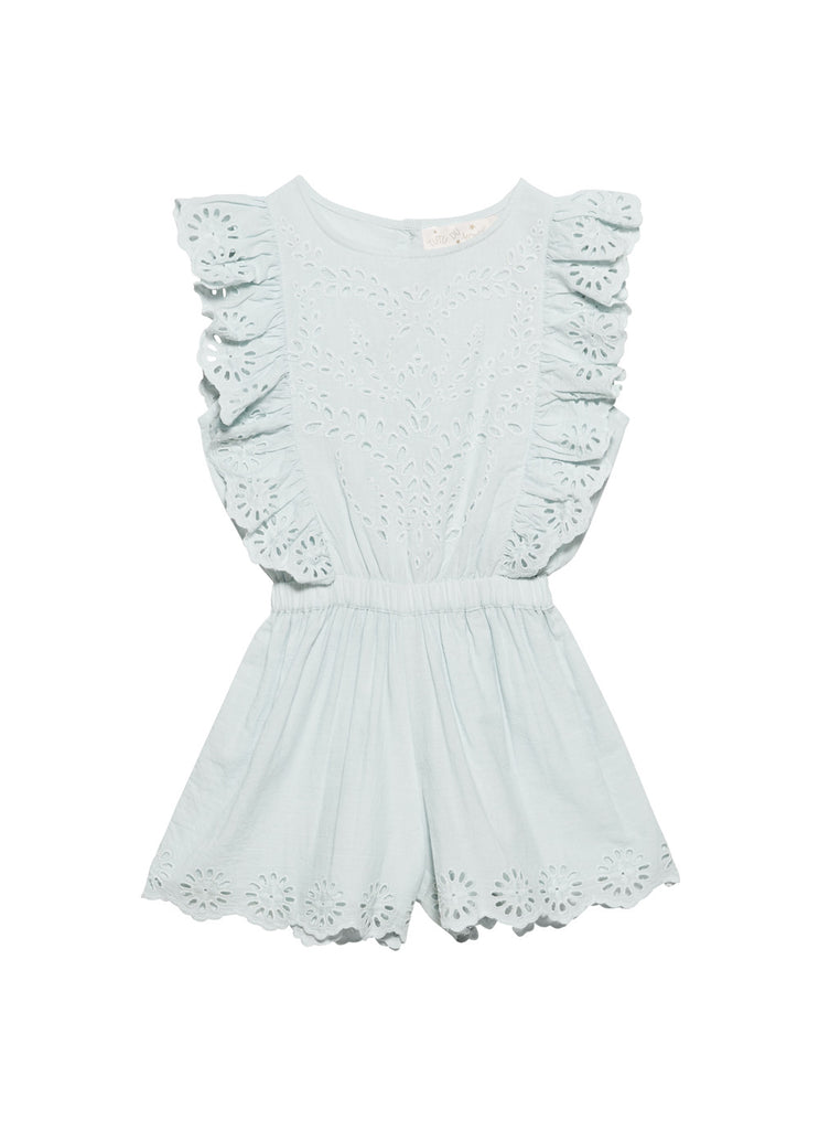 Indian summer playsuit - whisper