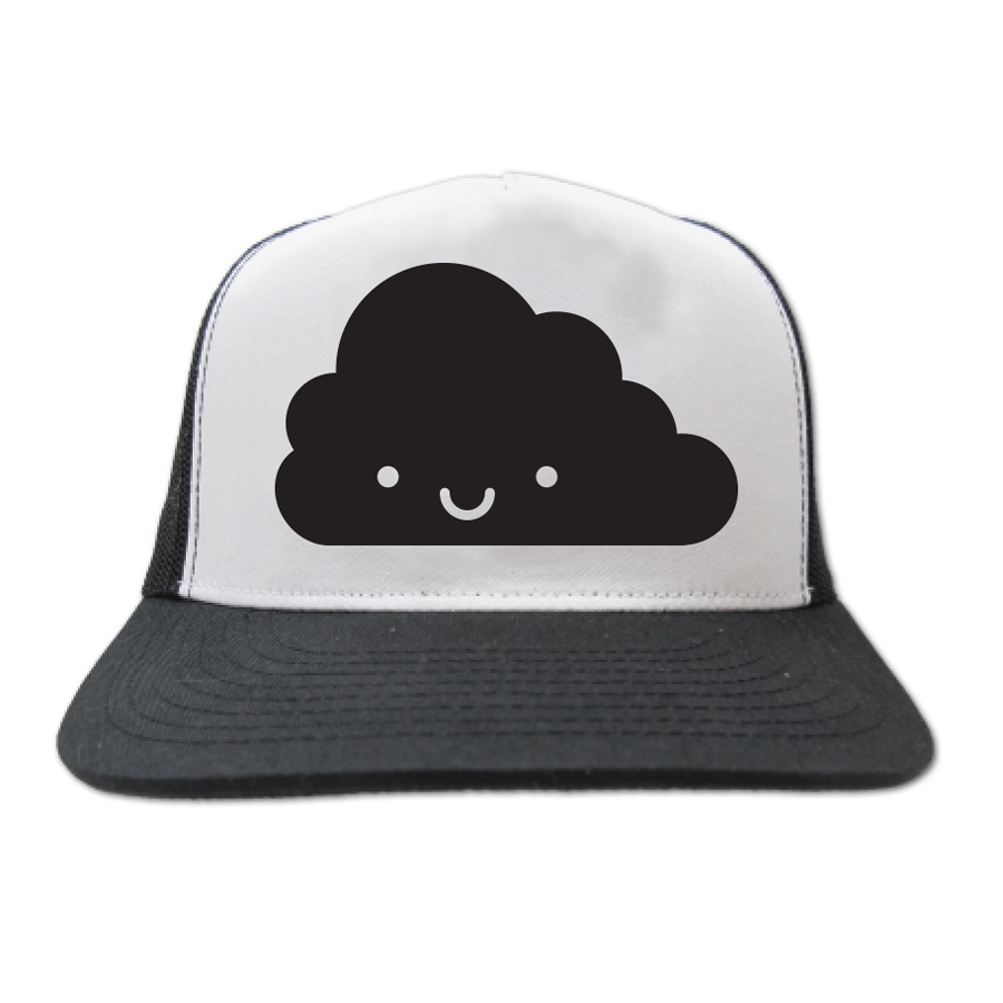 Kawaii cloud trucker cap - one size