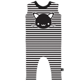 Kawaii cat romper