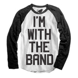 I'm with the band raglan shirt - adult