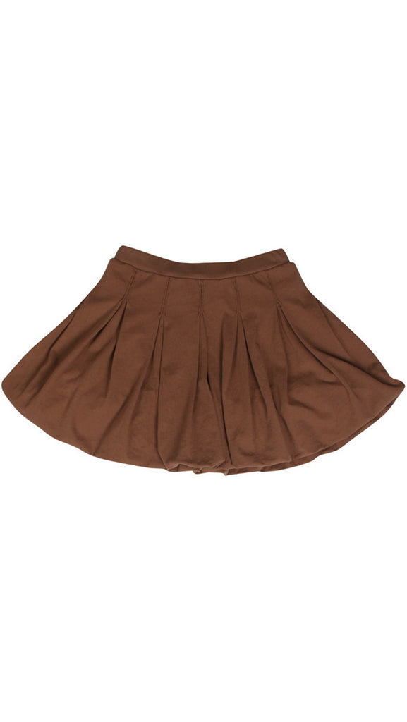 mimobee bubble bubble skirt - cocoa