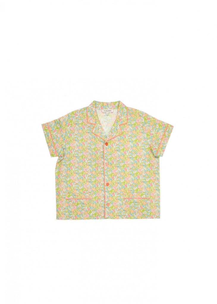 Casper shirt - bright pink liberty
