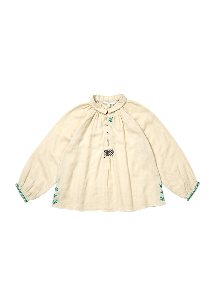 Moss blouse - cream