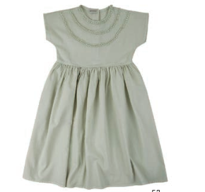 Circle dress - green grey