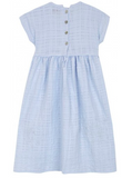 Country dress - blue