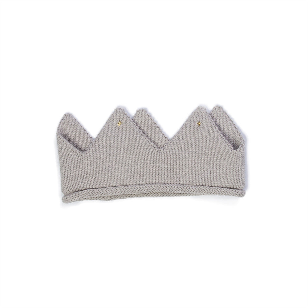 Knit Crown-Grey