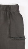 Del Mar half pocket shorts - Charcoal