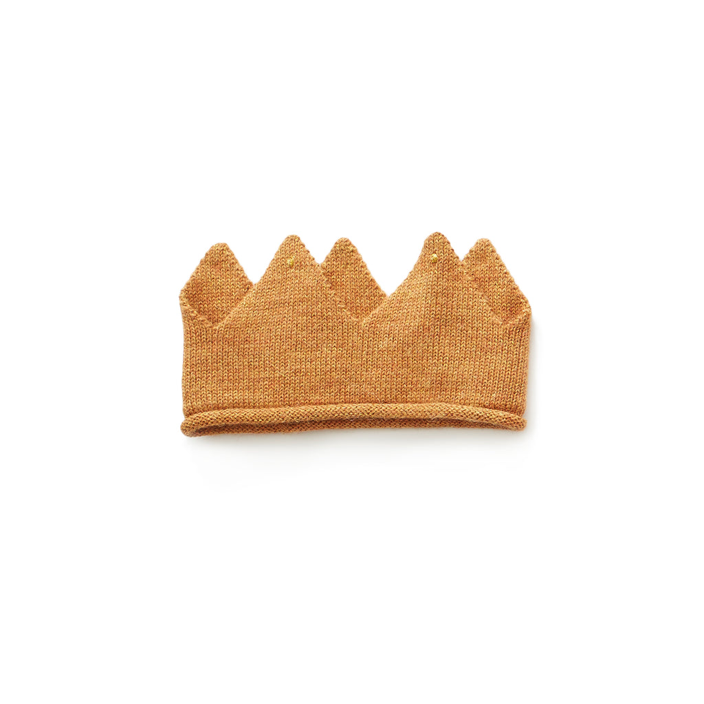 gold knit crown